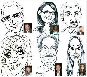 Caricatures from Photo & Live Entertainment