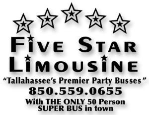 Five Star Limousine and Party Bus