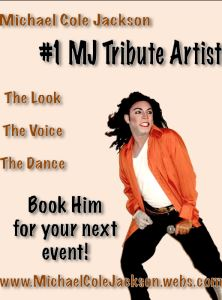 Michael Jackson Tribute Artist