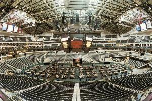 American Airlines Arena Floor