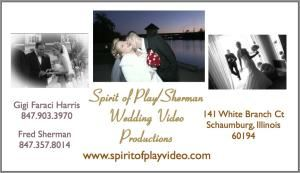 Spirit of Play Wedding Video productions