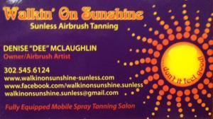 Walkin' On Sunshine Sunless(Mobile) Airbrush Spray Tanning