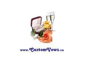 Custom Vows