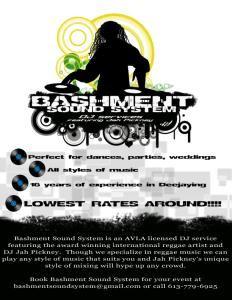 Bashment Sound System DJ Services - Belleville, ON - DJ