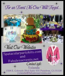 Fabulessevents Spa-tacular Party Kits