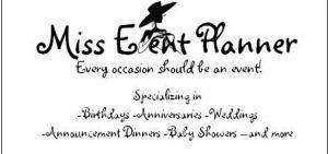 Miss Event Planner