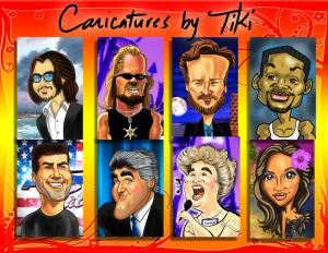 DigiToonsHawaii - Digital Caricature Drawings