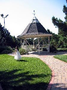 Gazebo Lawn Area
