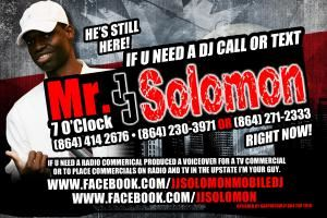 JJ SOLOMON MR7OCLOCK can DJ OR HOST YOUR PARTY OR CLUB NIGHT