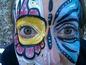 Beautiful Creatures Face and Body Painting