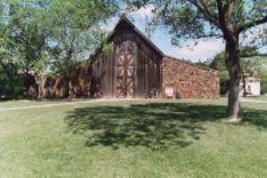 Stone and Cedar Barn