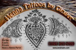 Henna Tattoos by Ginger