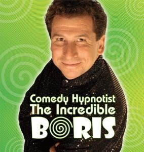 Comedian Hypnotist The Incredible BORIS in Miami
