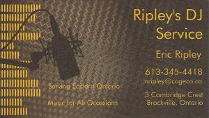 Ripley's DJ Servie
