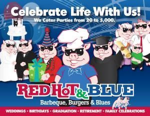 Red Hot & Blue - Leesburg