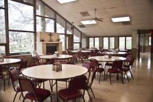 The Huxtable Dining Hall