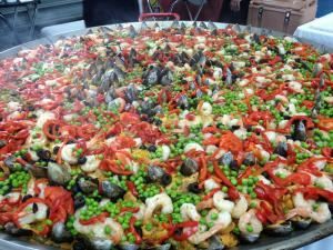 Party Paella Tropical