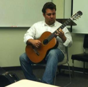 Classical Guitarist Russell Dean Harris