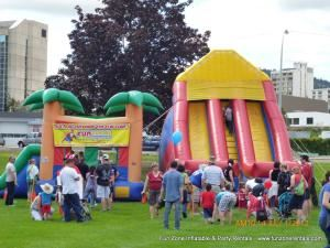 Fun Zone Inflatable Bouncy Castle & Inflatable Rentals