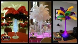Feathers By Angel-Ostrich Feather Centerpieces - Greensboro