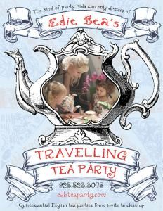 Edie Bea's Travelling Tea Party