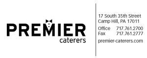 Premier Caterers