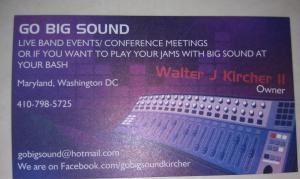 GO BIG SOUND