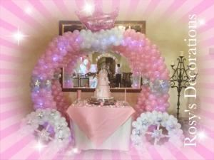Rosy's Party Decorations