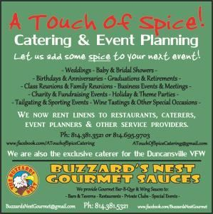 A Touch Of Spice Catering, LLC
