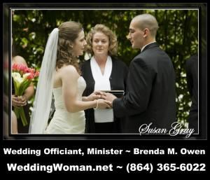 Brenda M Owen ~ Wedding Officiant & Minister ~ Clayton