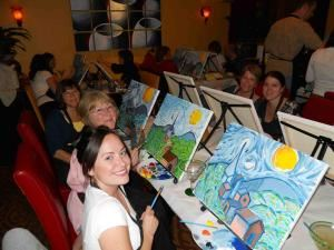 Wine and Canvas Louisville