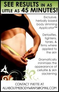 "All About Me Body Wraps ~ ""IT WORKS"""