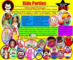 Kid's Parties by Eveliny