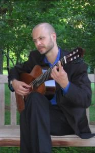 Brian Luckett, classical guitar