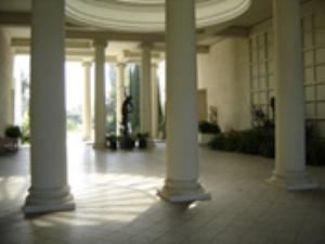 The Virginia Steele Scott Gallery Loggia
